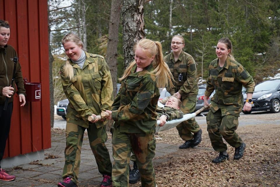 Bilder fra kursene hos Moss og Rygge Lotteforening